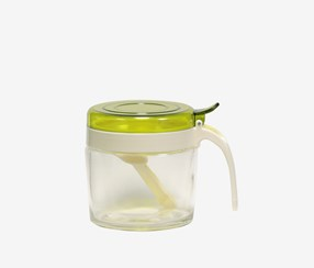 Condiment Server, Green/Transparent