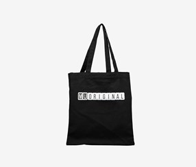 Canvas Shoulder Bag, Black