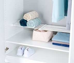 Extendable Shelf, White