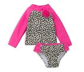 Little Me Baby Girls' Two Piece Long Sleeve, Pink