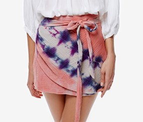 Free People Women's Mini Skirt,  Pink