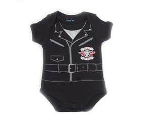 Bon Bebe Boy's Bodysuit, Black
