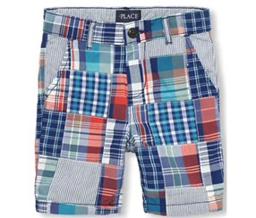 The Children's Place Boy's Short, Blue/White