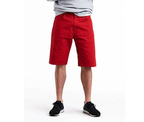 Levi's Men's 569 Loose-Fit Shorts, Red