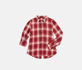 Tommy Hilfiger Big Girls Casual Tops, Red