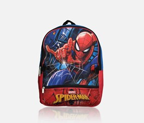 Kids Boys Spider-Man Backpack, Red/Blue