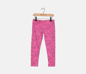 Epic Threads Toddler Girls Leggings, Rapsberry Rose