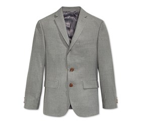 Ralph Lauren Boys' 8-20 Long Sleeve Blazer. Grey