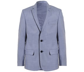 Calvin Klein Boy's Striated Sharkskin Jacket, Blue