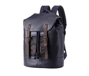 Troop London Larger stylish backpack, Navy