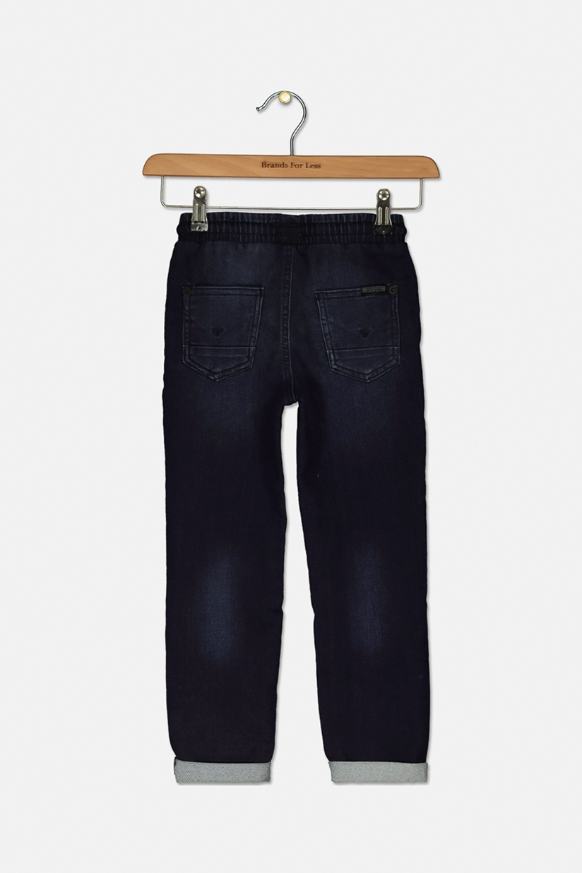 Hudson Boys French Terry Joggers Jeans Iron Wash Brands For Less