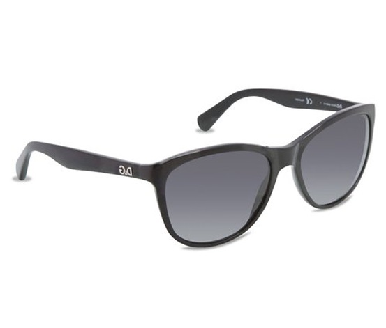 0179eee3c897 More Details. The sophisticated D G DD3091 Polarized sunglasses have a  stylish Black Oversized ...