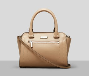 Kenneth Cole Reaction Tori Mini Satchel, Sesame