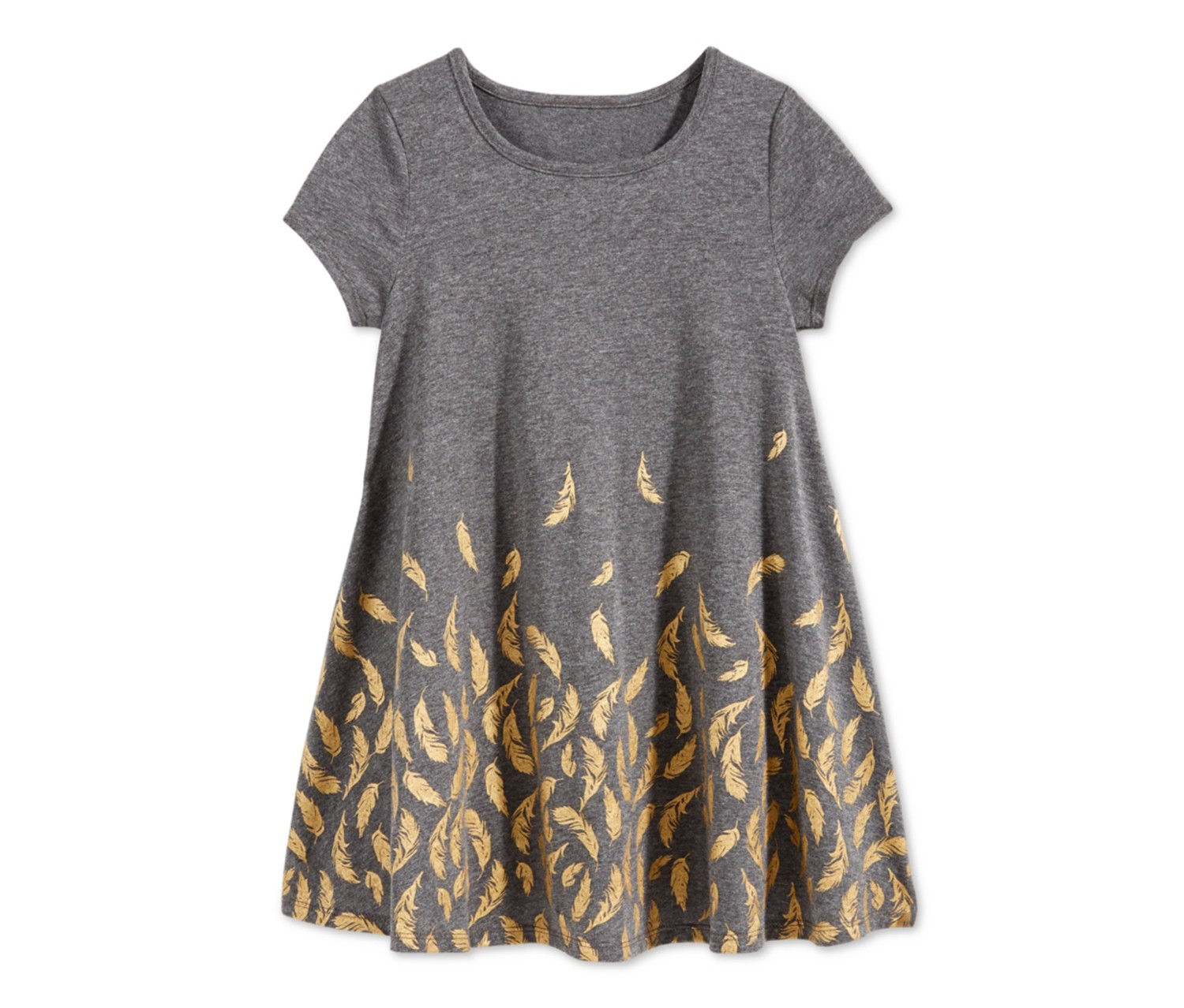 a3585f29ccf39 Shop Epic Threads Epic Threads Little Girls Feather-Print Skater ...