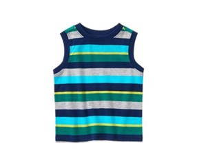 Crazy 8 Toddlers Striped Tank Top, Multi