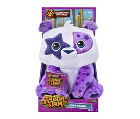 Animal Jam Posh Panda Deluxe Plush, White/Purple