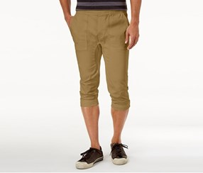 American Rag Men's Cropped Joggers, Dull Gold
