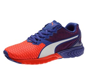 Puma Ignite Dual Women's Running Shoes, Red/Blue