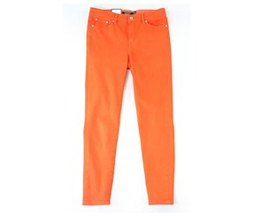 Ralph Lauren Premier Ankle Skinny Jeans, Orange