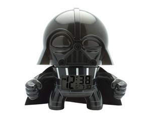 Bulb Botz Star Wars Darth Vader Alarm Clock, Black