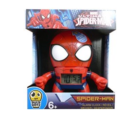 Spider-Man Bulb Botz Alarm Clock, Red