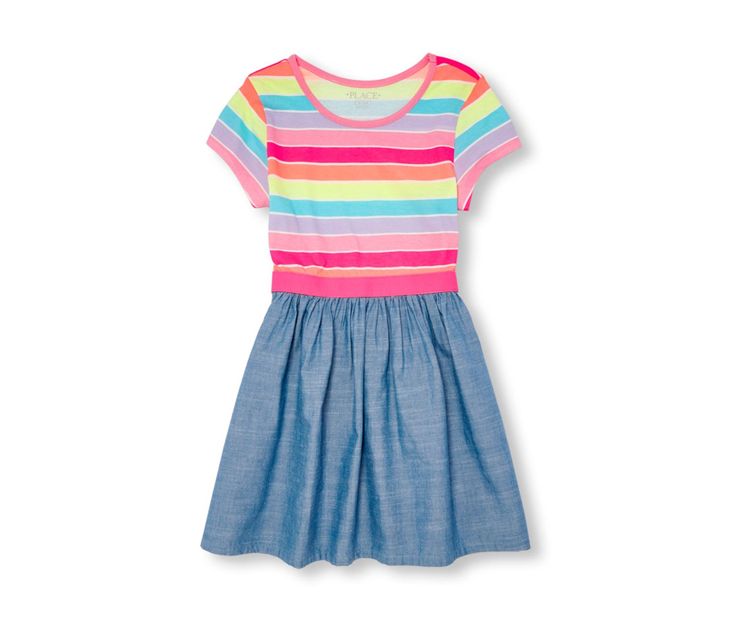 The Childrens Place Girls Big Novelty Stripe Sweater