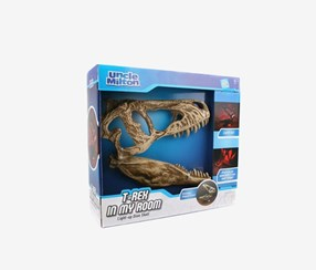 Uncle Milton T. Rex In My Room Home Decor Tabletop Light, Beige