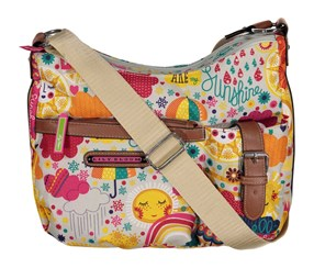 Lily Bloom Kathryn Classic Hobo Bag, Spring Showers