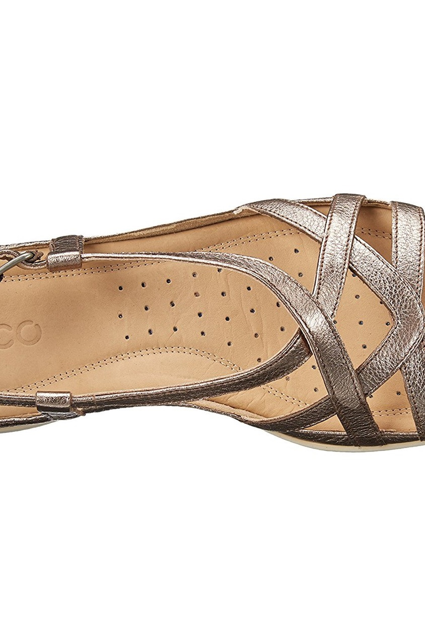 25334aa3c9eae Shop Ecco Ecco Footwear Women's Flash Sandal, Grey Metallic for ...