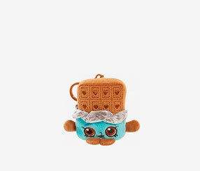Shopkins Plush Clip-On Cheeky Chocolate, Brown