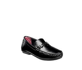 Stacy Adams Men's Percy Moc Toe Bit Loafer, Black