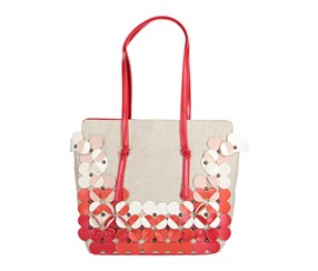 Nanette Lepore Peggy Shoulder Bag, Coral