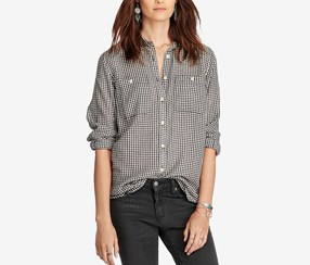 Denim Supply Ralph Lauren Checked Utility Shirt, Combo
