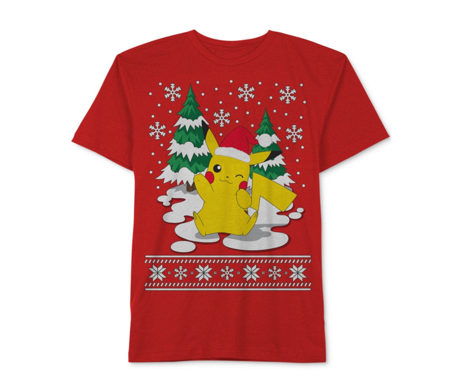 0623c9eba Shop JEM Jem Pokemon Merry Pikachu-Print T-Shirt, Red for Toddlers ...