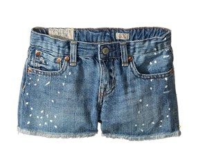 Ralph Lauren Paint Splat Shorts, Blue