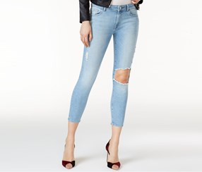 DL 1961 Florence Ripped Jeans, Clifton Wash