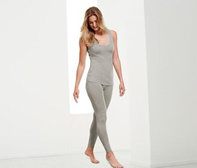 Women Leggings, Grey