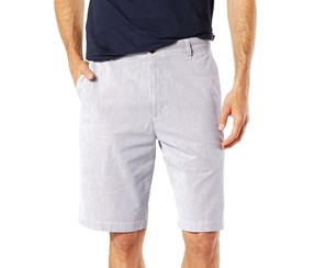 Dockers Men's Classic Fit Stretch Perfect Short, Dark Blue