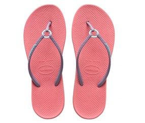 Havaianas Women's Style 2 Ring Slipper, Rose