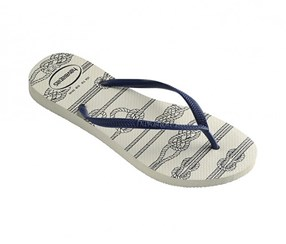 Havaianas Slim Nautical, Branco White