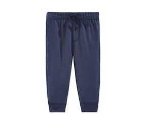 First Impressions Baby Boys Solid Jogger Pants, Navy Nautical