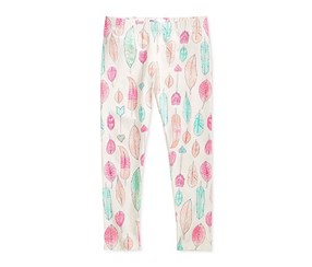 Epic Threads Mix and Match Feathers Leggings, Holiday Ivory
