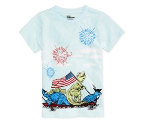 Epic Threads Boys Graphic-Print T-Shirt, Clearwater