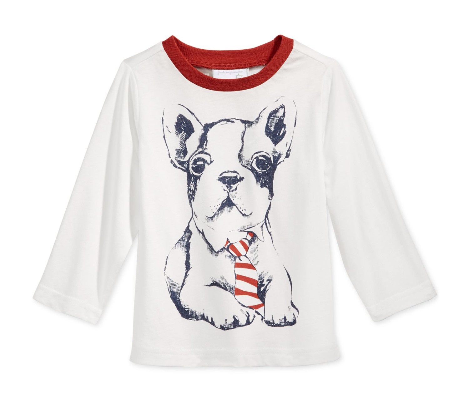 316c64cb ... First Impressions Baby Boys Long-Sleeve Graphic T-Shirt, Angel White.  Handbags Collection. Suits & Blazers. Kids Fashion. 4/4979-IT.jpg