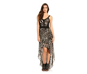 Guess by Marciano Mullholland Long Dress, Multi