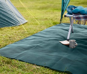 Carpet For Tents, Teal