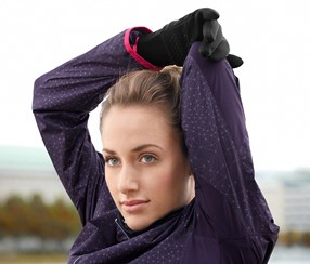 Wind Protection Gloves, Unisex, Black