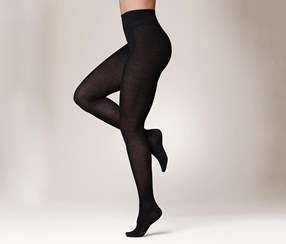 Women's Knitted Tight, Black