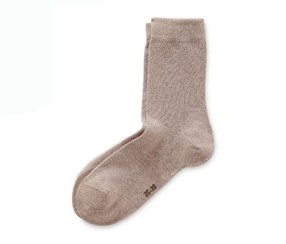 Women's Socks, 2 pairs, Brown/Nutmeg