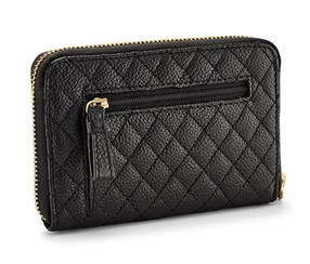 Women's Leather Purse, Black